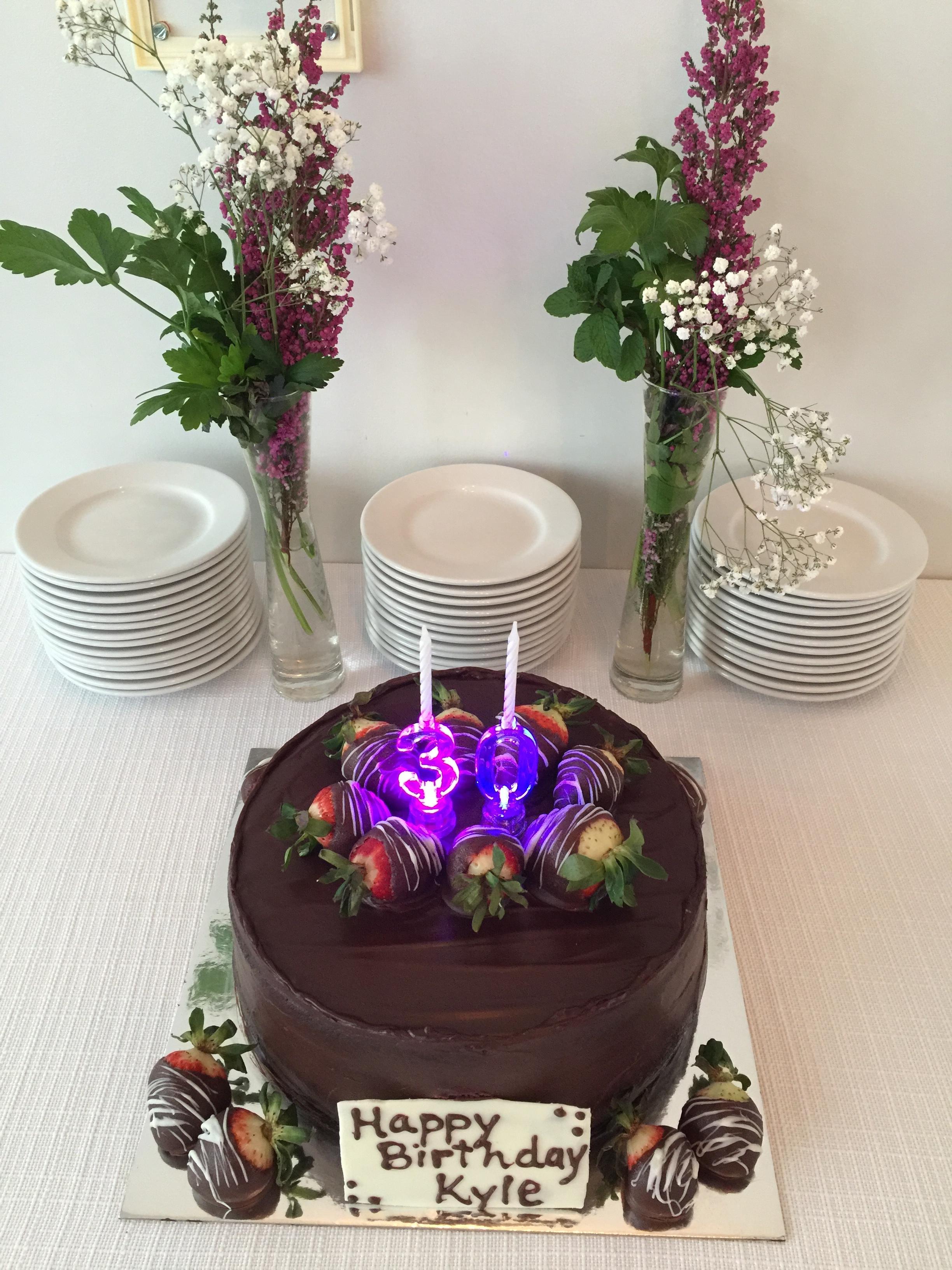 Dirt y 30 cake